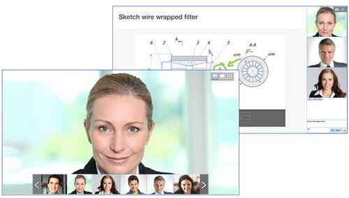 Die Videokonferenz App in Unternehmen bei der Team Arbeit
