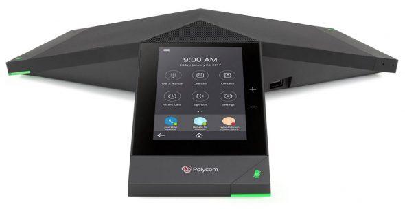 Konferenztelefon Polycom Trio8500 IP in Konferenzräumen