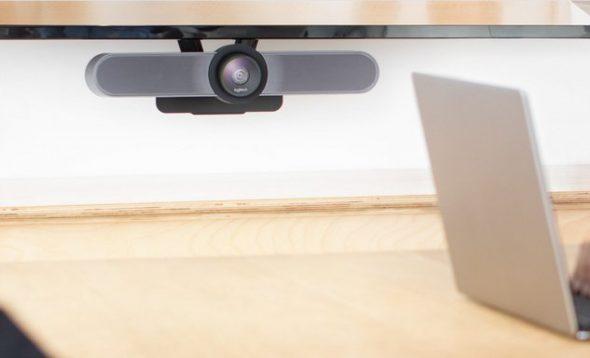 Videokonferenz Konferenzraum Kamera Logitech MeetUp