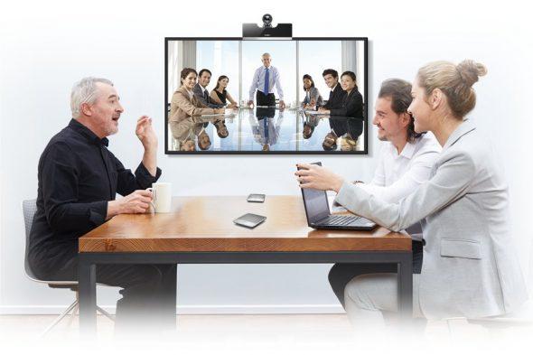 Yealink VC500 Videokonferenzsystem im Konferenzraum