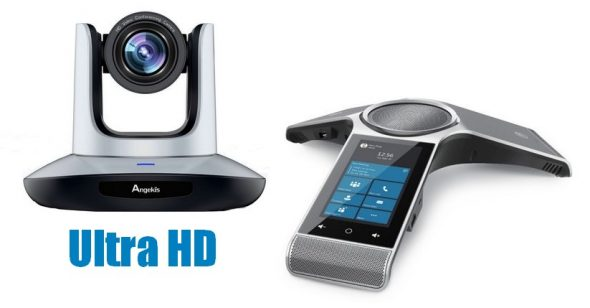 Konferenzraum Videokonferenz System mit Mikrofone für Cisco WebEx