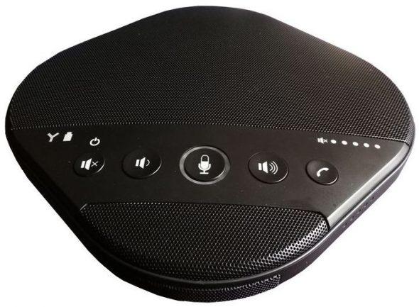 Wireless Konferenz Mikrofon mit Akku